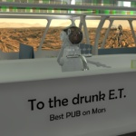 """Mars-Projekt """"Zum betrunkenen E.T."""""""