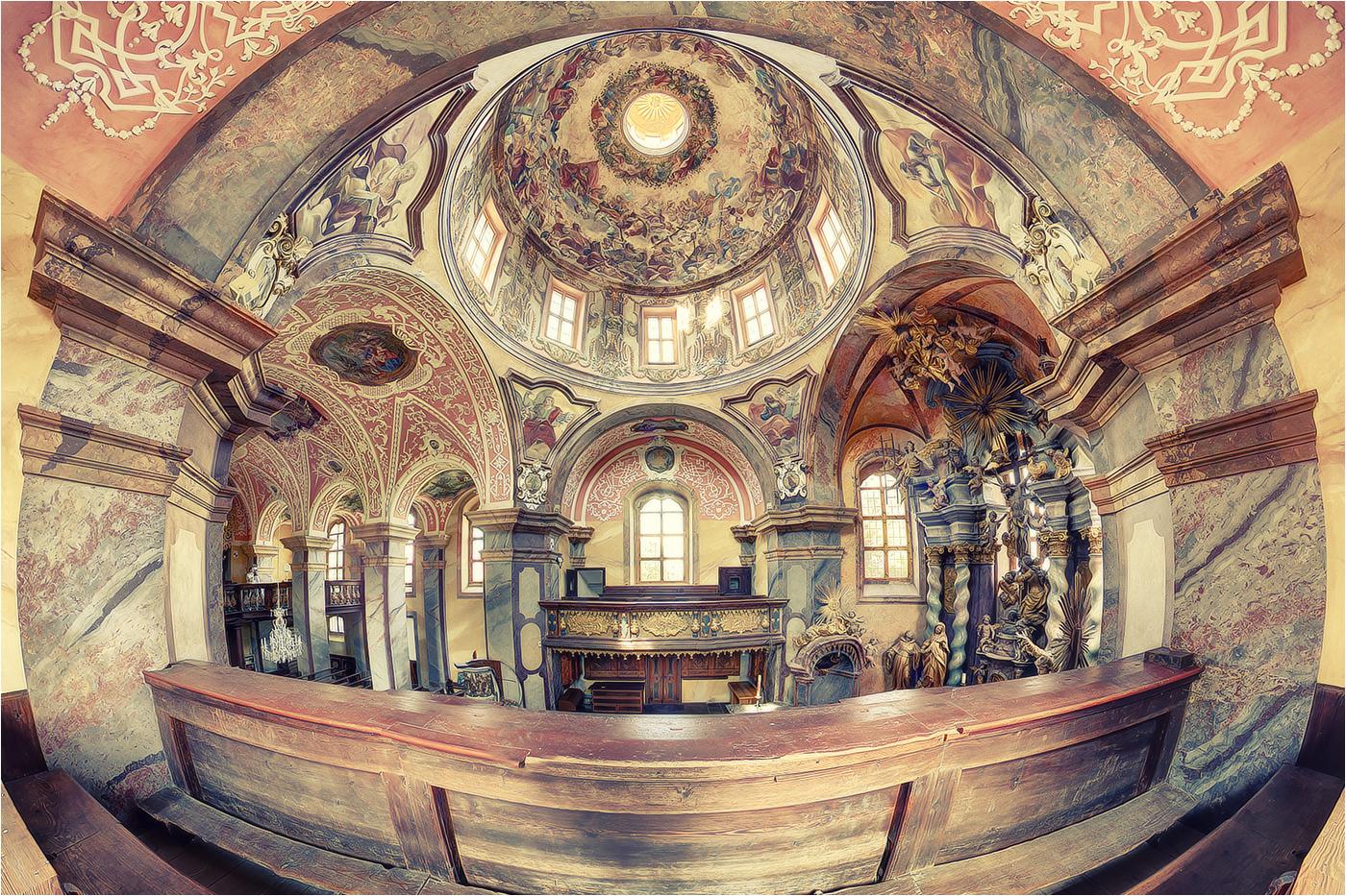 Pfarrkirche zum Heiligen Kreuz, Kloster Neuzelle, evangelische Kirche