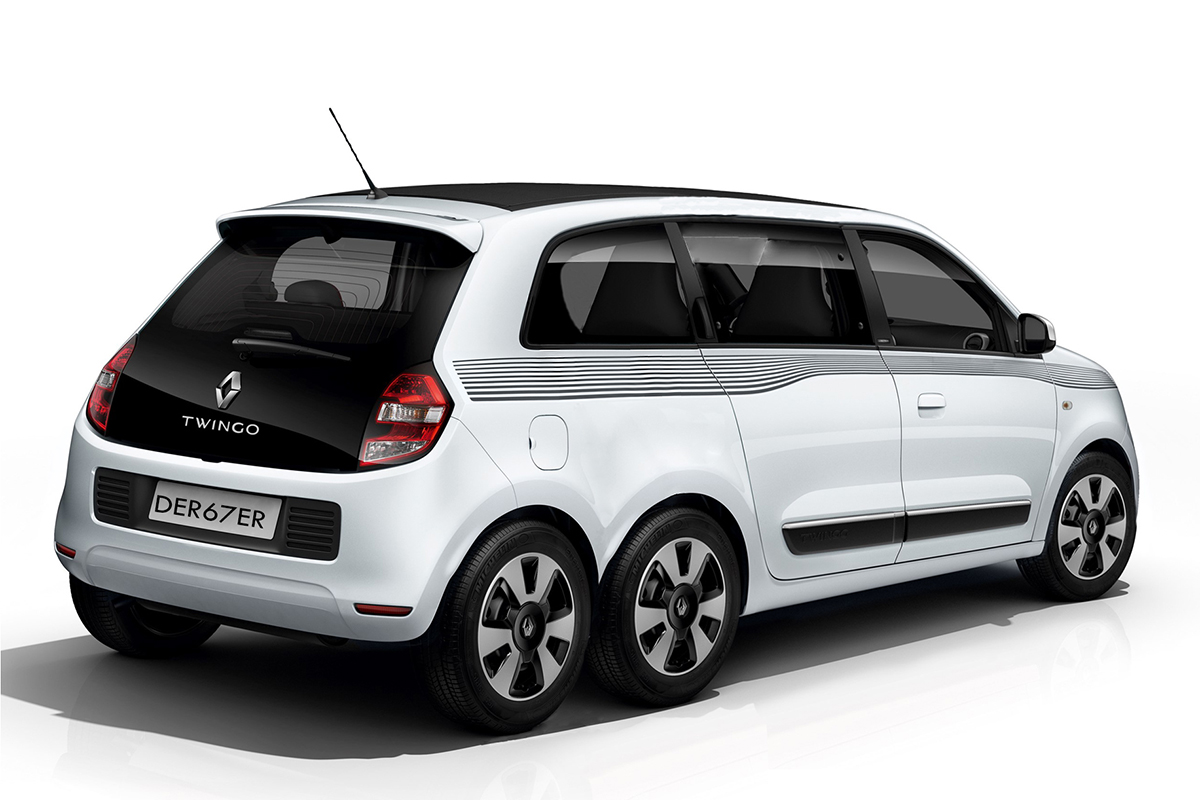 Renault Twingo T3 Stretch-Limo Pickup